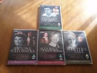 Set of 4 BBC Shakespeare Collection DVD's