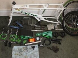 RALEIGH CHOPPER MK3 (NEON) THE HOT ONE - (PARTS AVAILABLE)