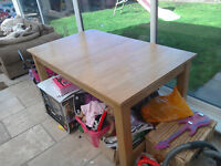 HARD WOOD DINEING TABLE WITH EXTENSION