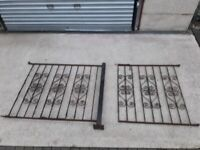 Garden Gate & Fence & post Steel used 900 high x 2350mm