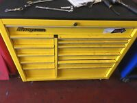 Snap on tool box wiv tools