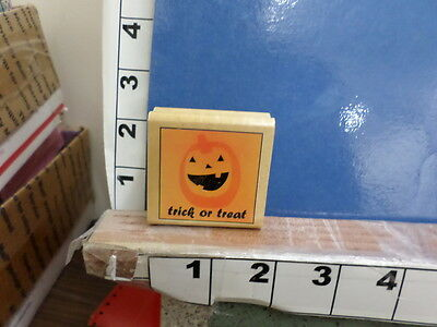 saying trick or treat jack or lantern Halloween costume  rubber stamp - Halloween Treat Sayings