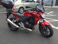 HONDA CB500F - 2015 - Low Mileage, Honda warranty until June 2017
