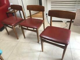 4 Original Dining Chairs 60s style