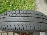Michelin Energy Saver 165/70 R 14 tyre & wheel rim for Fiat Punto