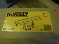 Dewalt DE7029 Large end stop EXTRA WIDE for Dewalt DW7023 saw bench