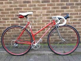 Small Ladies 49cm Mixte Vintage Bike / Reynolds 453 / 1986 Cycles Océane / 1x7 speeds / New parts