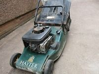 Hayter Harrier 48 with 2 grass boxes - well used and seen better days, but starts and runs