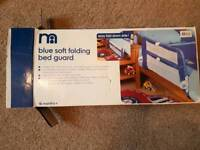 Mothercare folding bed guard