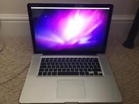 "Apple MacBook Pro, 15"", 2010, Intel core 2 duo, 2.53 Ghz, DAMAGED Screen"