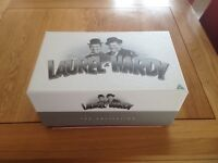 Boxed set, 21 off, Laurel & Hardy dvds