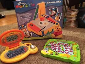 Assorted electronic games