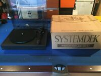 Systemdek IIX Turntable with RB250 Arm and A&R Cambridge Stylus