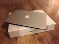 Boxed Immaculate Macbook Pro 13 inch Retina Display 256GB Storage