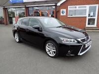 LEXUS CT 1.8 200H ADVANCE 5dr AUTO ** Sat Nav + Cruise + ZERO Tax ** (black) 2014