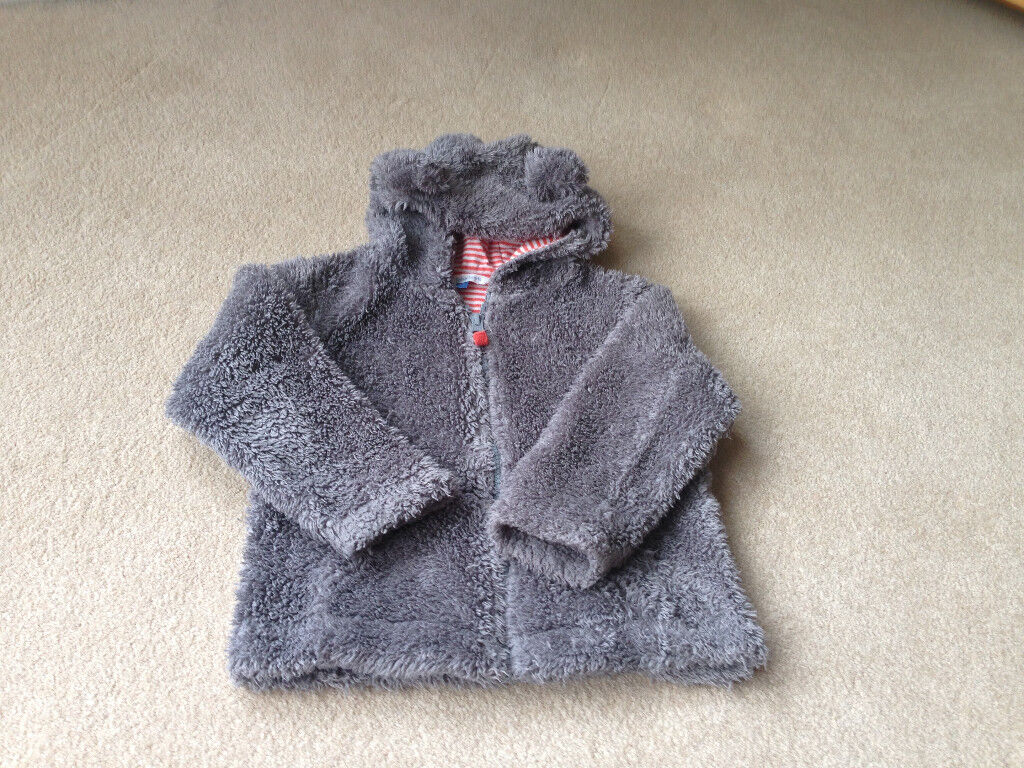 John Lewis padded lined fleece with animal ears age 2-3