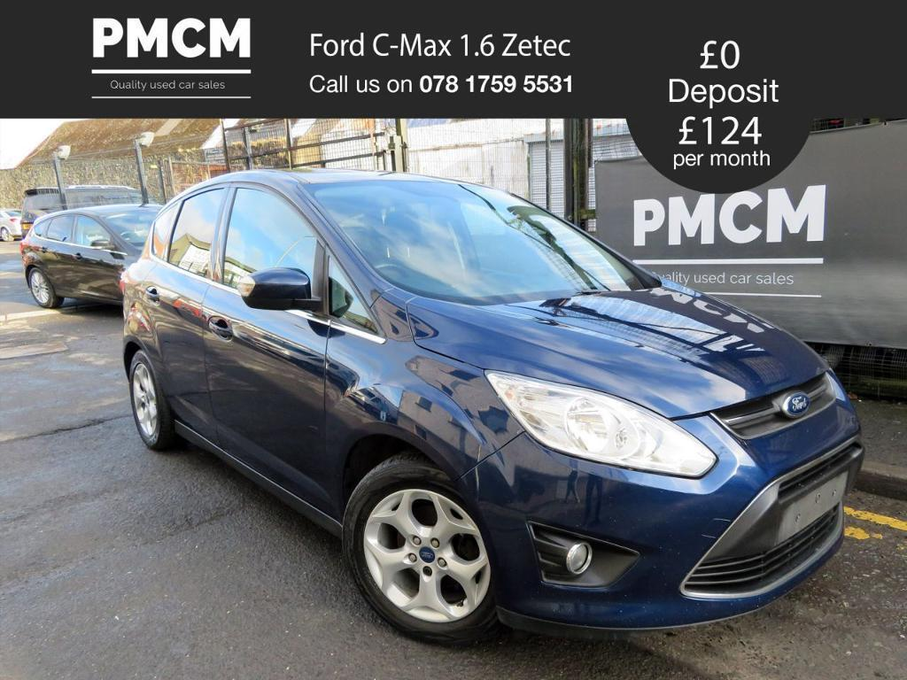 ford c max 2012 1 6 zetec spacious family car 2 owners focus secinic meriva blue 2012. Black Bedroom Furniture Sets. Home Design Ideas