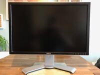 "Dell UltraSharp 2407WFPb 1920 x 1200 24"" Computer Monitor, £25 cash on collection"