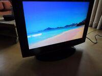 "25"" TV with DVD player + HDMI/VGA"
