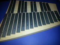Sonor Meisterklasse Alto Glock Glockenspiel Chromatic 2 octaves C2 TAG 25, TAG25