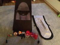 Babybjorn bouncer with extras