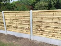🌞High Quality Pressure Treated Wooden/ Timber Garden Fence Panels