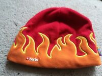 """Barts Fashionable """"Flames"""" Child's Wool Hat"""