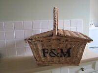 Ffortnum & Mason wicker basket