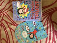 Used, Tracy Beaker Trilogy with free Date-o rotate-o for sale  Oadby, Leicestershire