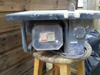 240v ELECTRIC TILE CUTTER EXCELLENT WORKING ORDER