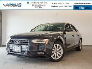 2013 Audi A4 2.0T PREMIUM PKG+LEATHER+HEATED SEATS+SUNROOF