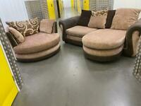DFS L shape sofa set •free delivery