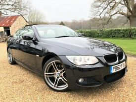 BMW 320d M Sport Convertible *Watch Video* Finance Available Hted Leather 19s Alloys Cruise Leather