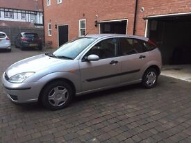 Good Condition Ford Focus 1.4 i 16v LX 5dr 54 Plate with MOT Jan 2018