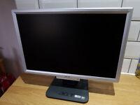 Acer AL1916W 19 inch VGA PC monitor, 1440 x 900 resolution.