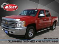 2012 Chevrolet Silverado 1500 LS Crew 4x4 - Chrome Pkg, Bluetoot
