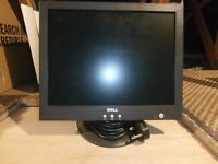 Dell 15 inch TFT LCD Computer Monitor. Comes with lead. In perfect working condition.