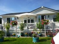 Set in a beautiful landscaped holiday park, a 3 bedroomed furnished lodge (50' x 20').