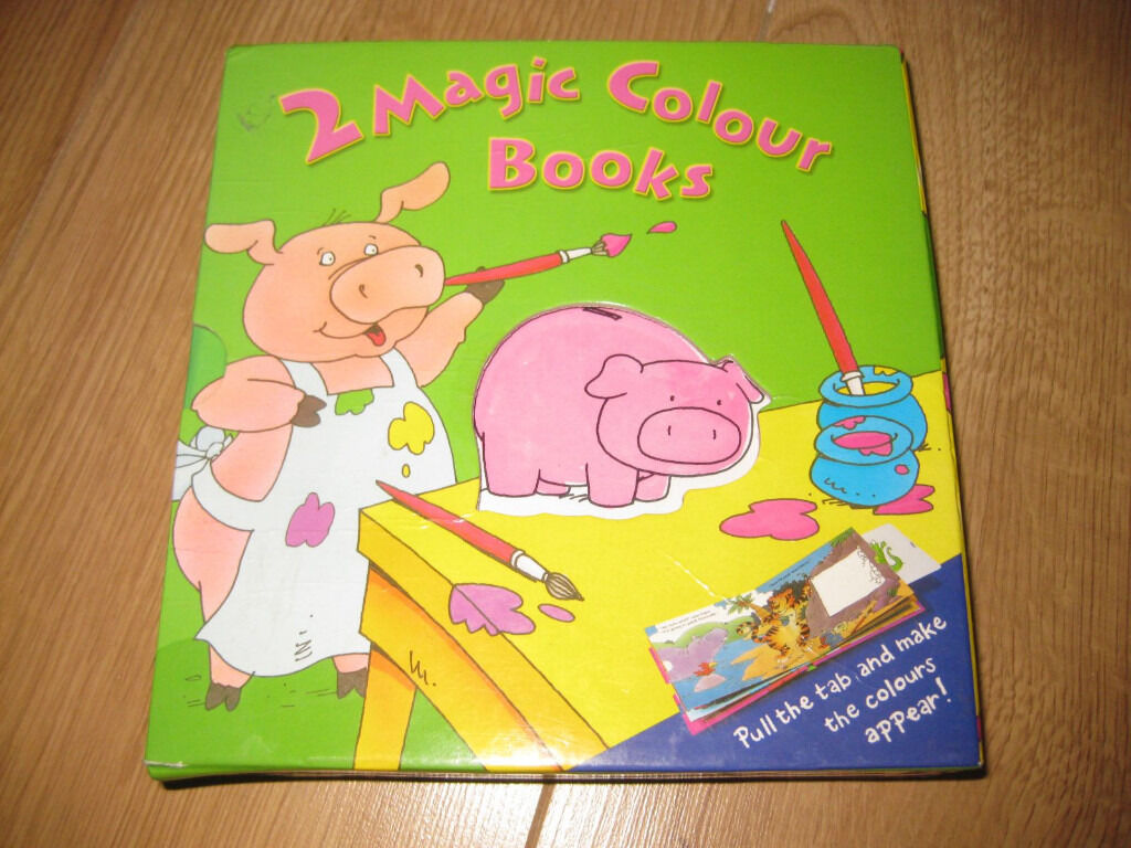 2 BEAUTIFUL 'MAGIC' STORY BOOKS in a PRESENTATION BOX - GREAT FUN! XMAS??
