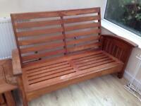 Hardwood conservatory furniture (teak)?
