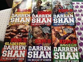 Darren Shan Zom -B Set of 6 books