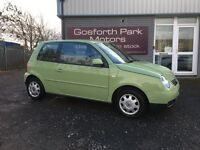 VW Lupo 1.4 S *Automatic *Full Mot *Low Miles *Part Ex Welcome