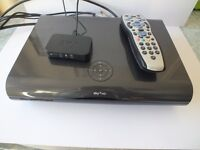 2TB 3D on demand Sky+ HD box with remote and Sky TV wireless connector