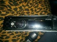 Pure DAB car stereo