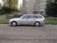 MERCEDES C220 CDI TURBO DIESEL ESTATE CHEAP WORK HORSE LOW MILES FOR THE YEAR QUICK SALE ONLY 444