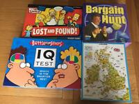 3 Board Games & A Jigsaw Puzzle