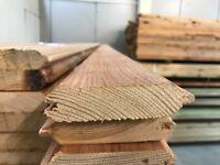 cladding timber shiplap loglap 100 x 25 premium only 99p BEST UK PRICE Direct manufacturer