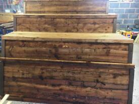 🦋 Pressure Treated Brown Wayneylap Wooden Garden Fence Panels