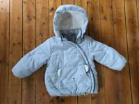 H&M winter coat size 1,5-2 years