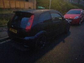 Ford fiesta zetec black 1.4L 3 door